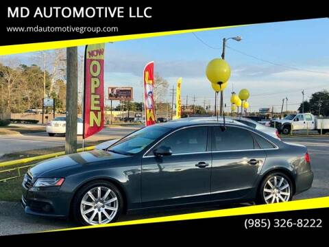 2011 Audi A4 for sale at MD AUTOMOTIVE LLC in Slidell LA