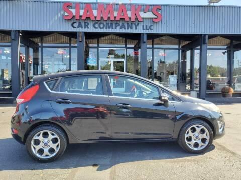 2012 Ford Fiesta for sale at Siamak's Car Company llc in Salem OR