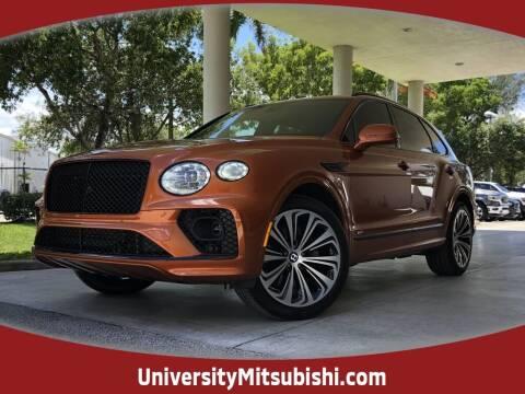 2021 Bentley Bentayga for sale at University Mitsubishi in Davie FL