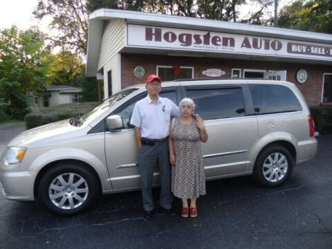 2016 Chrysler Town and Country for sale at HOGSTEN AUTO WHOLESALE in Ocala FL