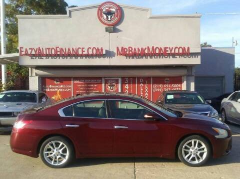 2009 Nissan Maxima for sale at Eazy Auto Finance in Dallas TX