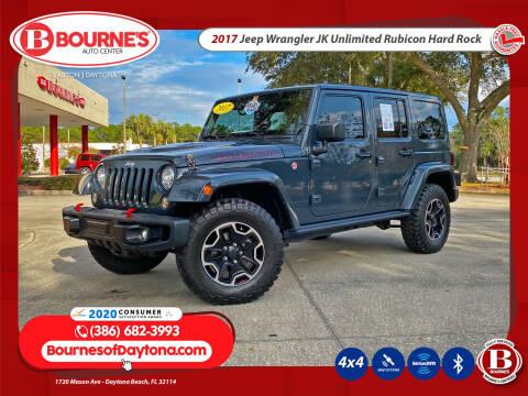 2017 Jeep Wrangler Unlimited for sale at Bourne's Auto Center in Daytona Beach FL