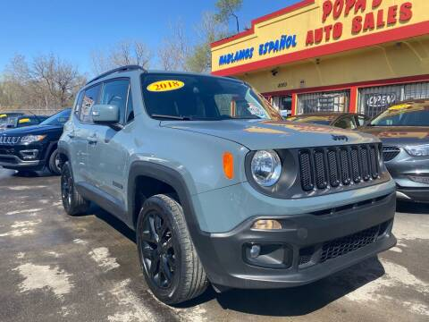 2018 Jeep Renegade for sale at Popas Auto Sales in Detroit MI