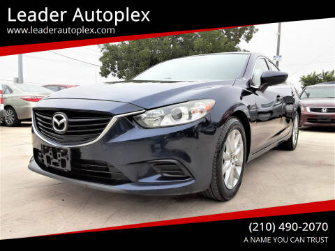 2015 Mazda MAZDA6 for sale at Leader Autoplex in San Antonio TX