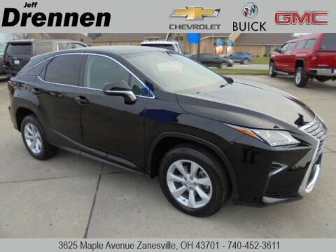 2017 Lexus RX 350 for sale at Jeff Drennen GM Superstore in Zanesville OH