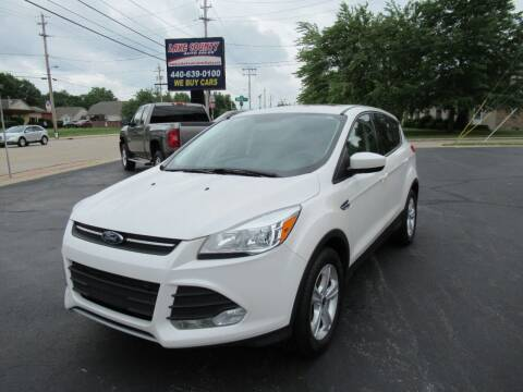 2015 Ford Escape for sale at Lake County Auto Sales in Painesville OH