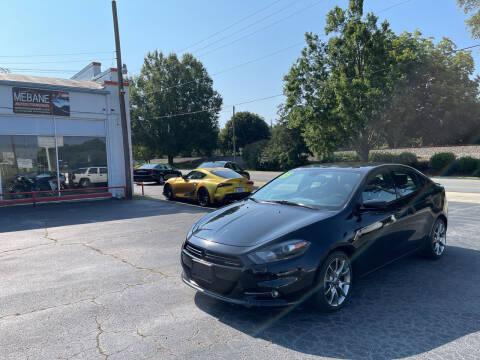 2015 Dodge Dart for sale at Mebane Auto Trading in Mebane NC