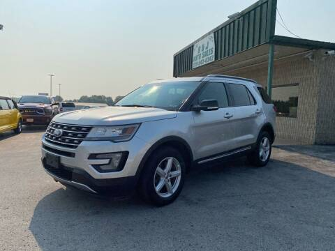 2016 Ford Explorer for sale at B & J Auto Sales in Auburn KY