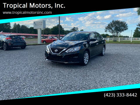 2019 Nissan Sentra for sale at Tropical Motors, Inc. in Riceville TN