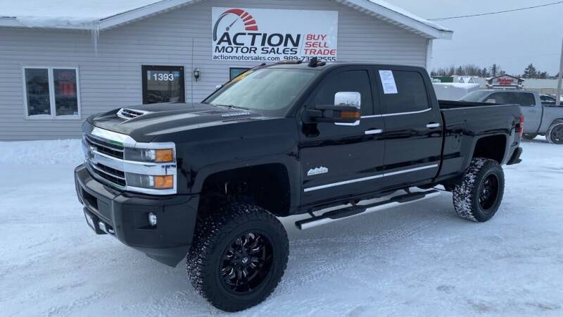 2018 Chevrolet Silverado 3500HD for sale at Action Motor Sales in Gaylord MI