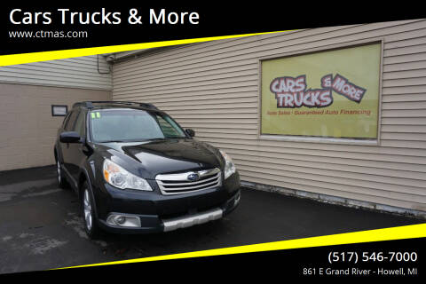 2011 Subaru Outback for sale at Cars Trucks & More in Howell MI