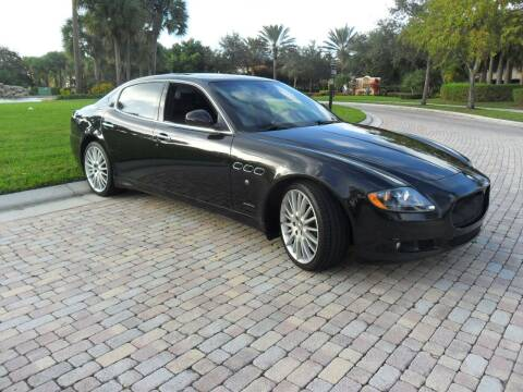 2012 Maserati Quattroporte for sale at AUTO HOUSE FLORIDA in Pompano Beach FL