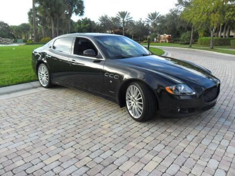 2012 Maserati Quattroporte for sale at AUTO HOUSE FLORIDA in Pompano Beach FL