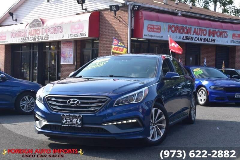 2017 Hyundai Sonata for sale at www.onlycarsnj.net in Irvington NJ