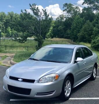 2012 Chevrolet Impala for sale at ONE NATION AUTO SALE LLC in Fredericksburg VA