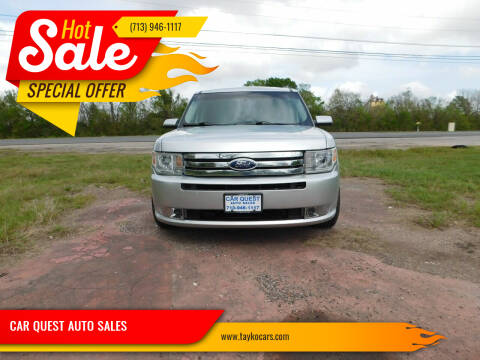 2011 Ford Flex for sale at CAR QUEST AUTO SALES in Houston TX