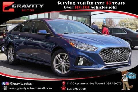 2018 Hyundai Sonata for sale at Gravity Autos Roswell in Roswell GA