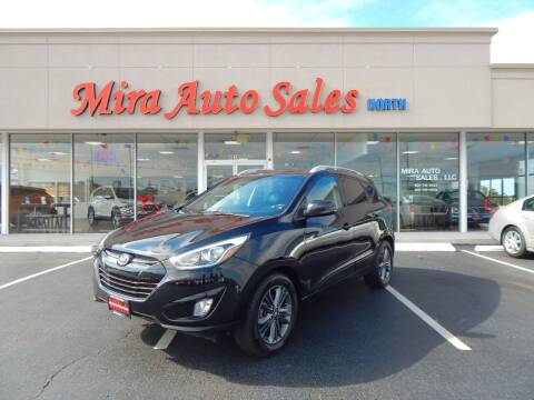 2015 Hyundai Tucson for sale at Mira Auto Sales in Dayton OH