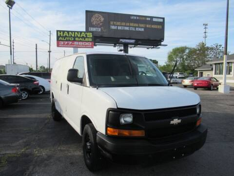 2007 Chevrolet Express Cargo for sale at Hanna's Auto Sales in Indianapolis IN