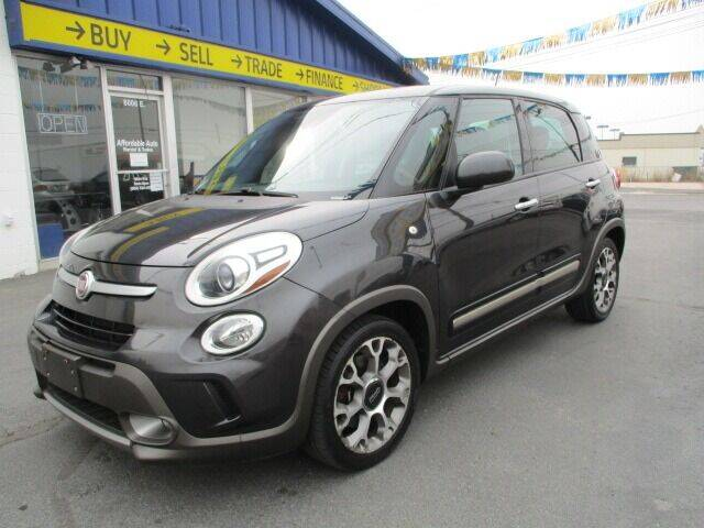 2014 FIAT 500L for sale at Affordable Auto Rental & Sales in Spokane Valley WA