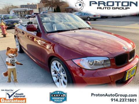 2012 BMW 1 Series for sale at Proton Auto Group in Yonkers NY
