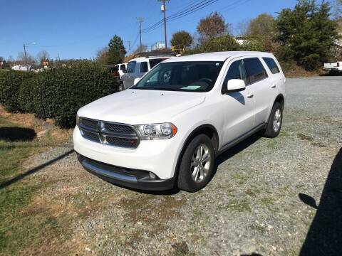 2013 Dodge Durango for sale at Clayton Auto Sales in Winston-Salem NC