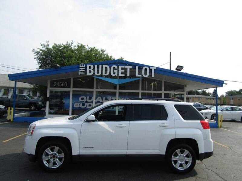 2013 GMC Terrain for sale at THE BUDGET LOT in Detroit MI