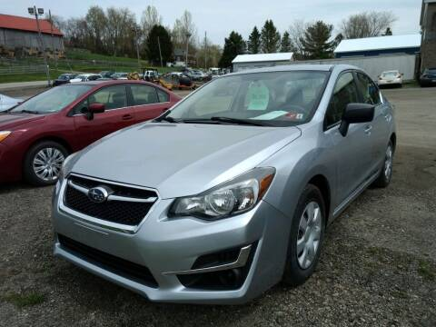 2016 Subaru Legacy for sale at G & H Automotive in Mount Pleasant PA