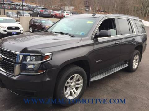 2015 Chevrolet Tahoe for sale at J & M Automotive in Naugatuck CT