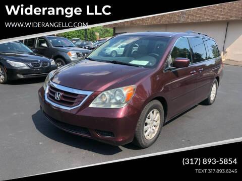 2008 Honda Odyssey for sale at Widerange LLC in Greenwood IN