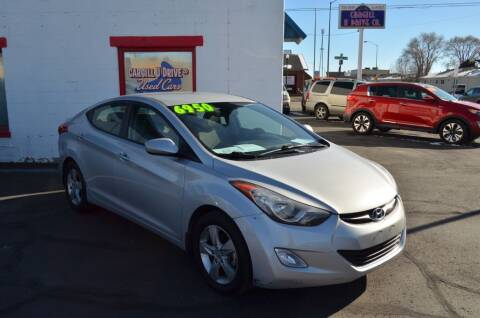 2013 Hyundai Elantra for sale at CARGILL U DRIVE USED CARS in Twin Falls ID