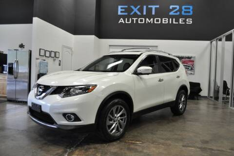 2015 Nissan Rogue for sale at Exit 28 Auto Center LLC in Cornelius NC