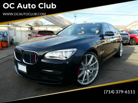 2014 BMW 7 Series for sale at OC Auto Club in Midway City CA