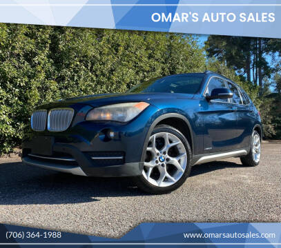 2013 BMW X1 for sale at Omar's Auto Sales in Martinez GA