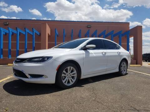 2015 Chrysler 200 for sale at QUALITY MOTOR COMPANY in Portales NM
