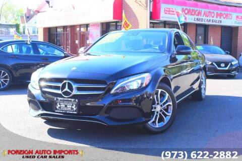 2017 Mercedes-Benz C-Class for sale at www.onlycarsnj.net in Irvington NJ