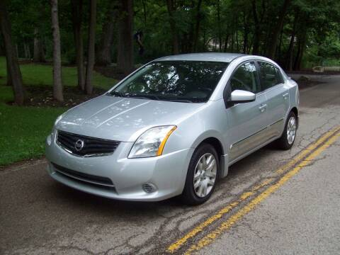 2012 Nissan Sentra for sale at Edgewater of Mundelein Inc in Wauconda IL