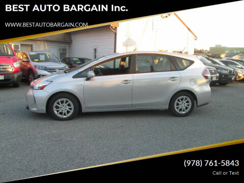 2015 Toyota Prius v for sale at BEST AUTO BARGAIN inc. in Lowell MA