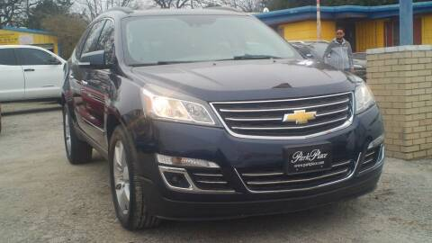 2015 Chevrolet Traverse for sale at Global Vehicles,Inc in Irving TX