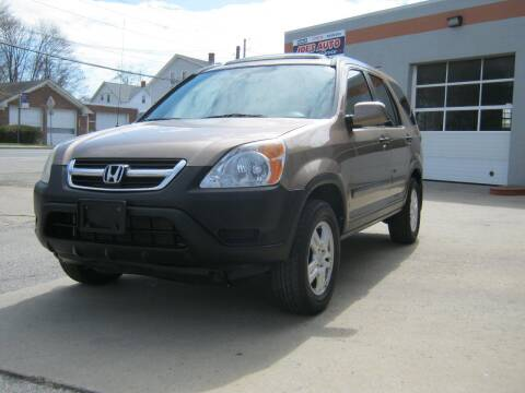 2004 Honda CR-V for sale at Joe's Auto Sales & Service in Cumberland RI