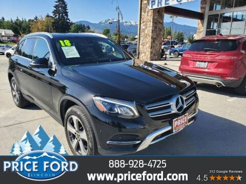 2018 Mercedes-Benz GLC for sale at Price Ford Lincoln in Port Angeles WA