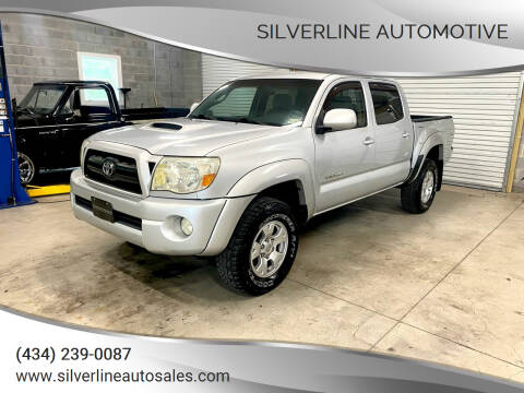 2007 Toyota Tacoma for sale at Silverline Automotive in Lynchburg VA