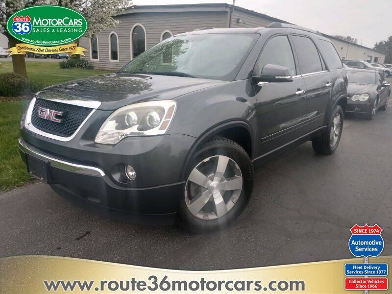 2011 GMC Acadia for sale at ROUTE 36 MOTORCARS in Dublin OH