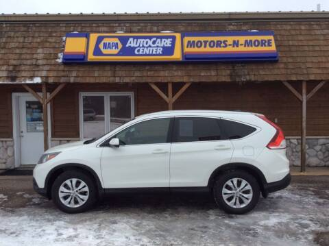 2013 Honda CR-V for sale at MOTORS N MORE in Brainerd MN