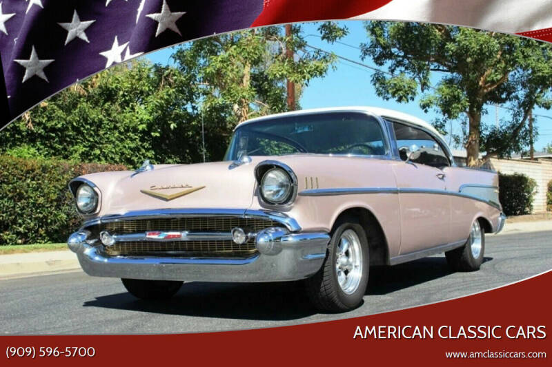 1957 Chevrolet Bel Air for sale at American Classic Cars in La Verne CA