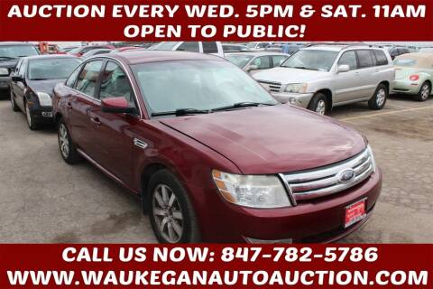 2008 Ford Taurus for sale at Waukegan Auto Auction in Waukegan IL