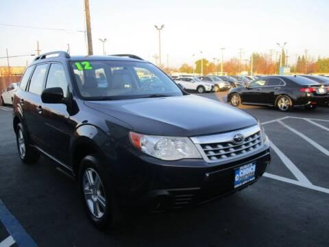 2012 Subaru Forester for sale at Choice Auto & Truck in Sacramento CA
