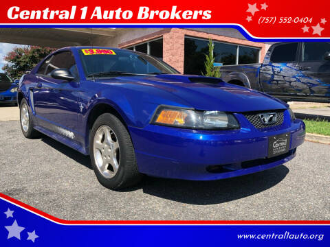 2003 Ford Mustang for sale at Central 1 Auto Brokers in Virginia Beach VA