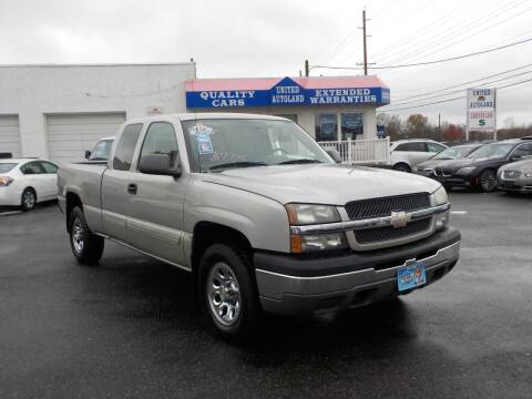 2005 Chevrolet Silverado 1500 for sale at United Auto Land in Woodbury NJ