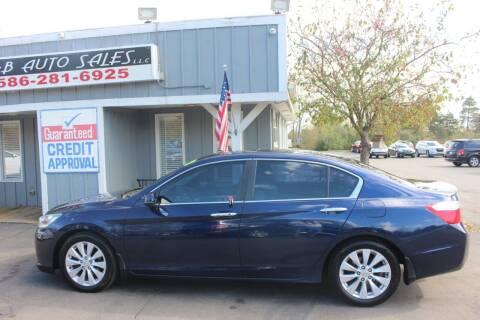 2013 Honda Accord for sale at D & B Auto Sales LLC in Washington MI